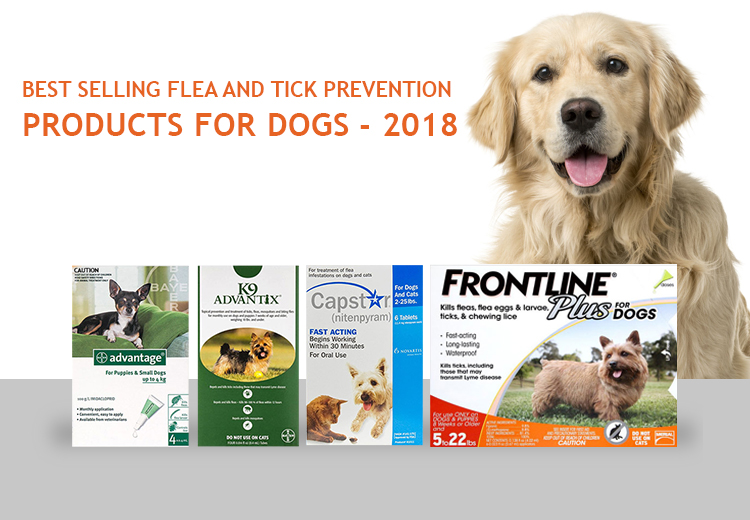 Best Selling Flea And Tick Prevention Products For Dogs - 2018