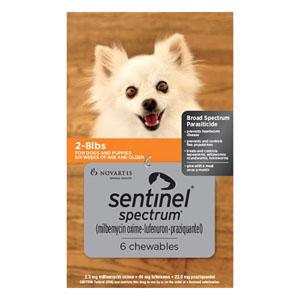 Sentinel Spectrum for Dog Supplies