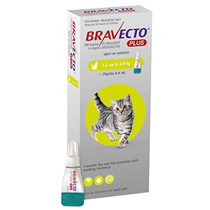 Bravecto Plus for Cat Supplies
