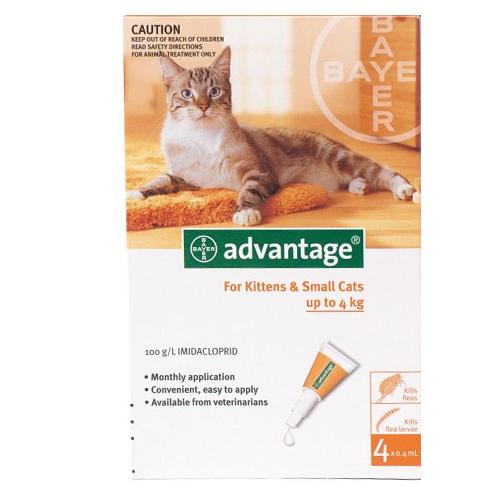 Advantage for Cat Supplies