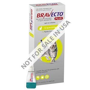 Bravecto Plus for Cat Supplies
