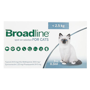 Broadline Spot-On Solution for Cat Supplies