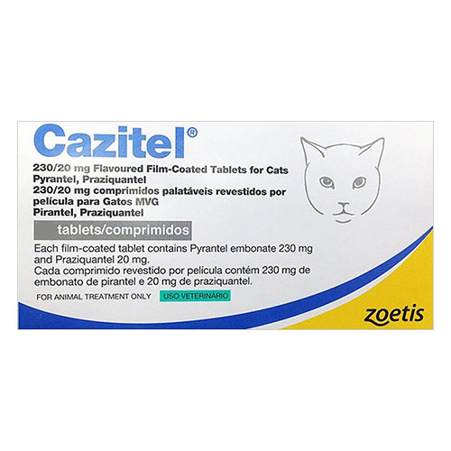 Cazitel Tablets  for Cat Supplies