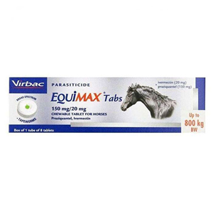 Equimax Tabs for Horse Supplies