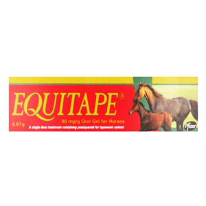 Equitape Horse Wormer Paste for Horse Supplies