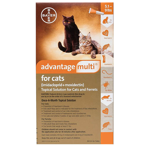 Advantage Multi (Advocate) for Cat Supplies