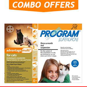 Advantage Multi & Program Oral Suspension Combo Pack for Cat Supplies