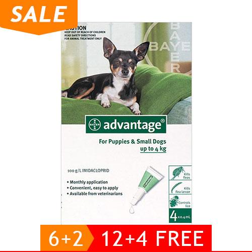 Advantage for Dog Supplies