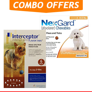 Nexgard & Interceptor Combo Pack for Dog Supplies