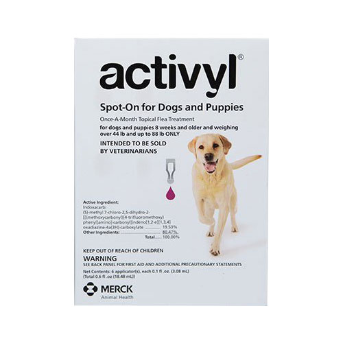 Activyl For Large Dogs 44 – 88 lbs Purple