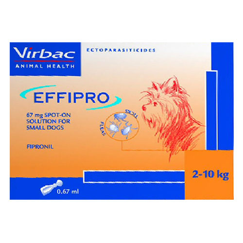 Effipro Spot-On Solution  For Small Dogs up to 22 lbs.