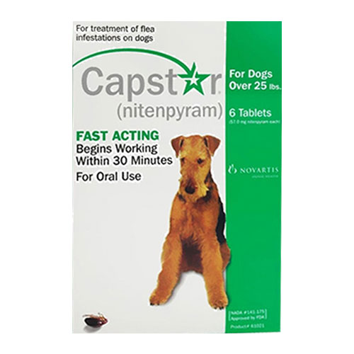 Capstar Green for Dogs 25.1 - 125 lbs