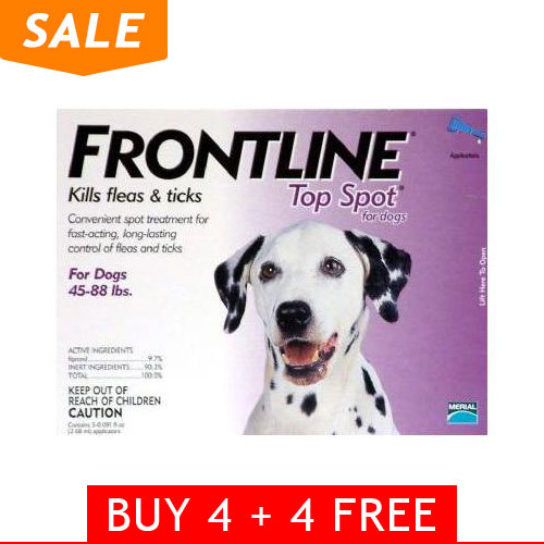 Frontline Top Spot Large Dogs 45-88lbs (Purple)