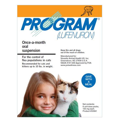 Program Oral Suspension Oral Suspension Cat 0-10 lbs (Orange)
