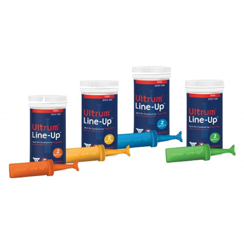 Ultrum Line-Up Spot On for Small Dogs up to 22 lbs (Blue)