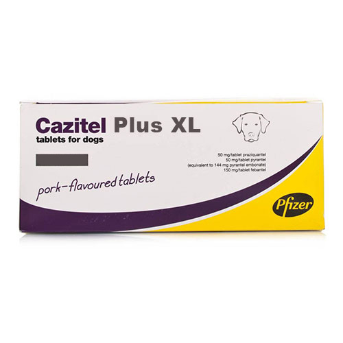 Cazitel Plus XL Tablets for Dogs