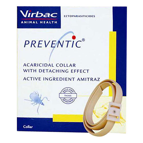 Preventic Tick Collar 25 inch Adjustable Collar for Dogs