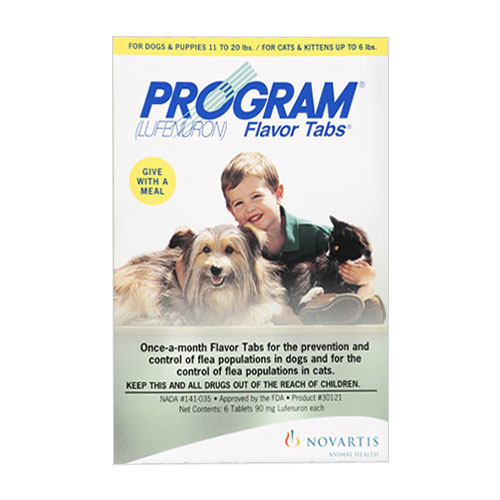 Program Flavour Tabs For Dogs 14.8 - 44lbs (Brown)