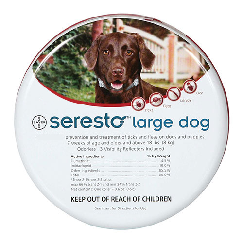 Seresto Collar For Large Dogs (above 18 lbs) 27.5 inch (70 cm)