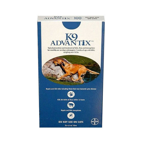 K9 Advantix  Extra Large Dogs over 55 lbs (Blue)