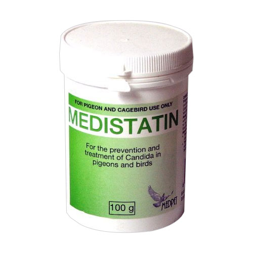 Medistatin  for Pigeons & Caged Birds
